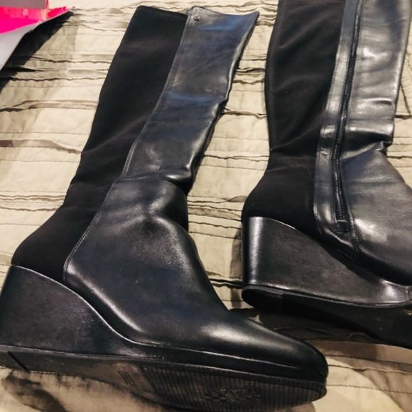 Knee High Wide Calf Boots Size 11